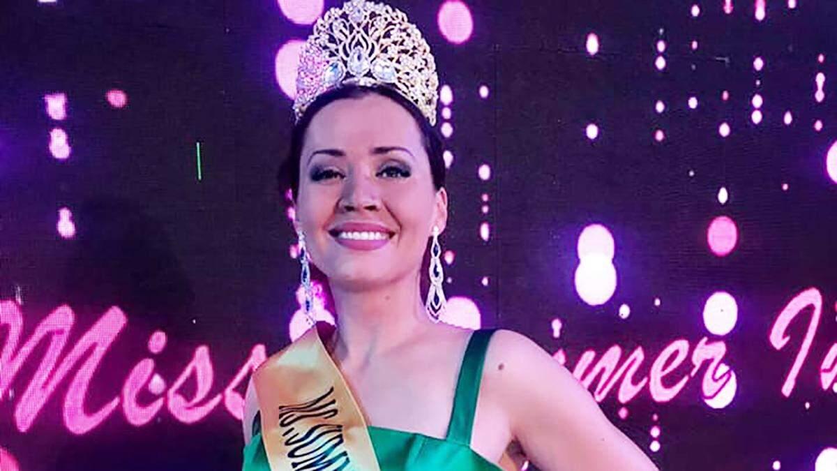 Анна Гаврилов стала Miss Summer International