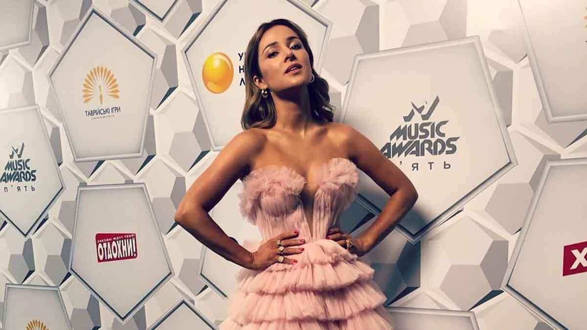 Злата Огнєвіч на церемонії M1 Music Awards
