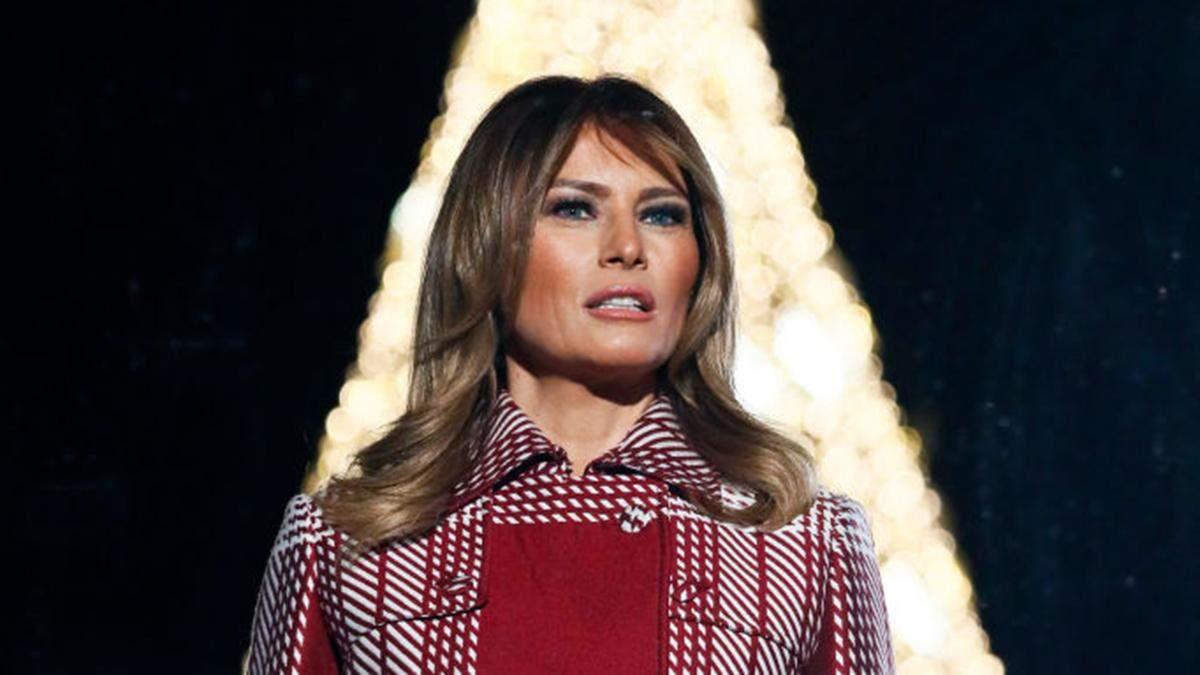 Дональд і Меланія Трамп відкрили головну ялинку США: як виглядає святкове дерево
