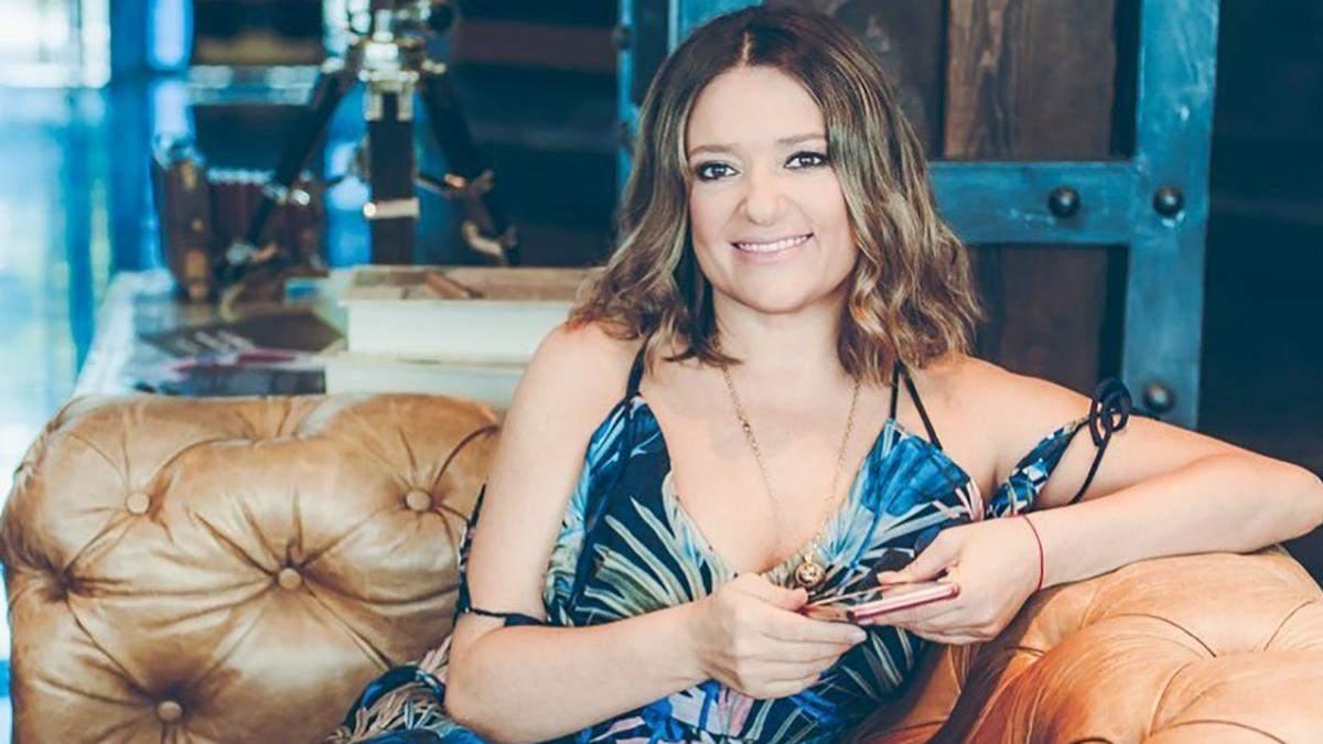 Співачка Наталія Могилевська