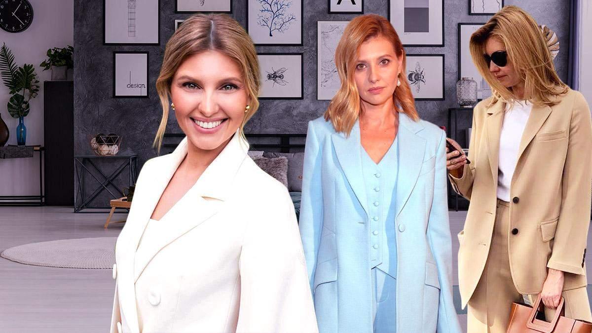 Первая модница Украины: какими образами отличилась Елена Зеленская