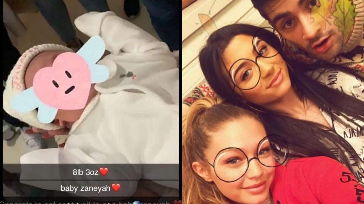 17-річна сестра музиканта Зейна Маліка народила дитину