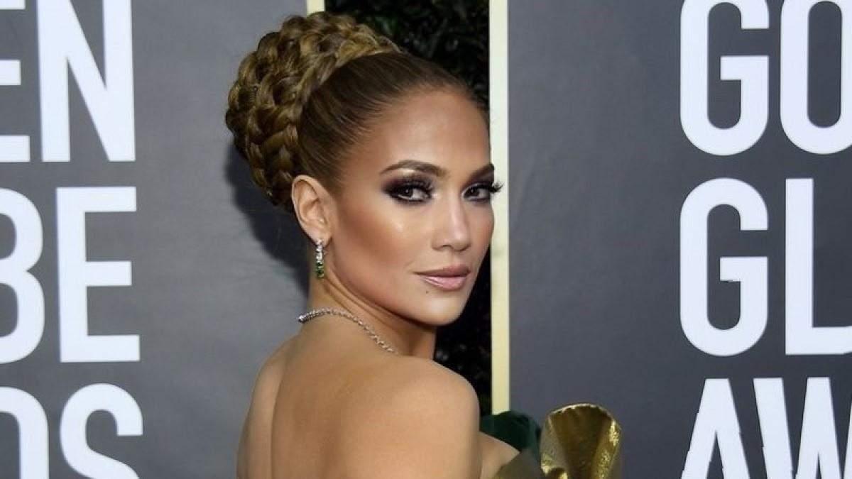 """Дженнифер Лопес показала наихудший наряд на """"Золотом глобусе"""": фото"""