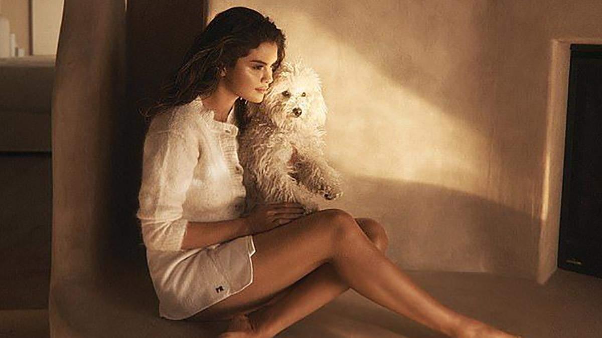 Селена Гомес прикрасила обкладинку глянцю та розповіла про пережиту депресію: ніжні фото