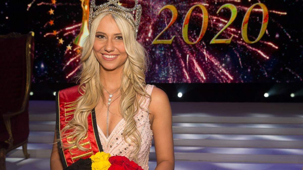 Міс Бельгія-2020 оконфузилась у прямому ефірі шоу: відео