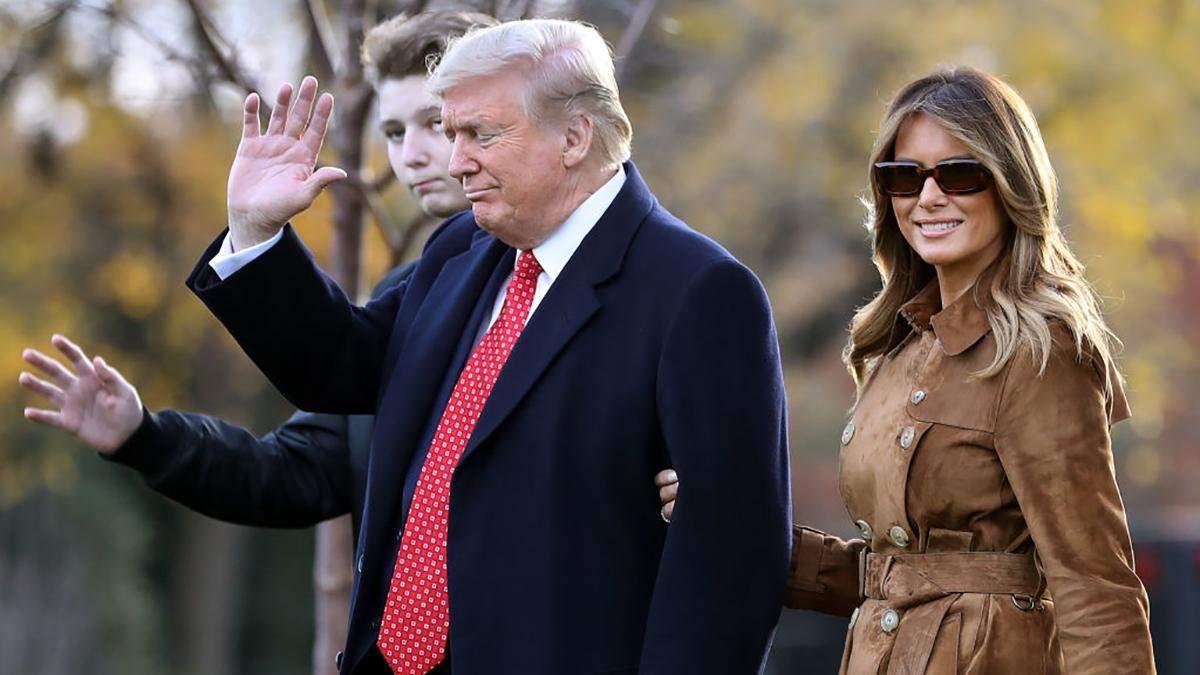 Дональд та Меланія Трамп