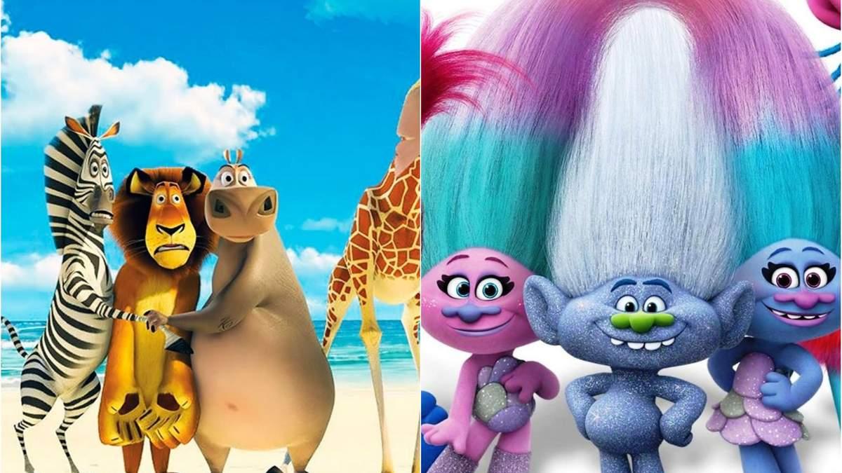 """Мультфільми """"Мадагаскар"""" і """"Тролі"""" отримають продовження у вигляді серіалів: подробиці"""