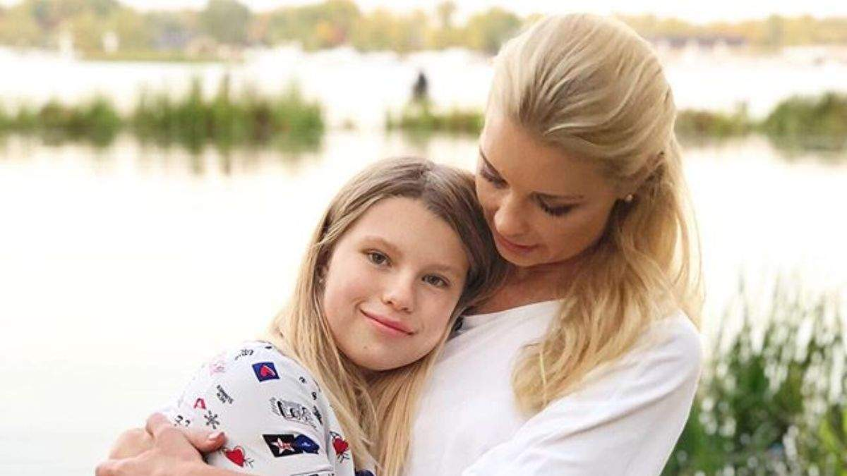 Лидия Таран с дочкой