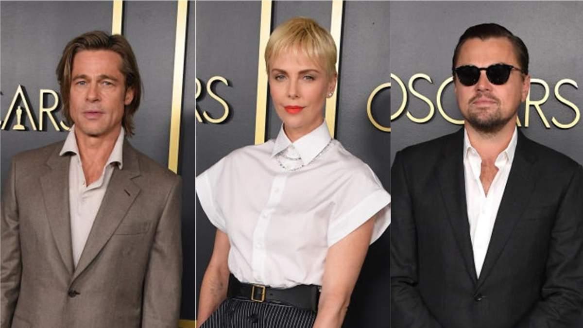 Шарлиз Терон, Брэд Питт и другие звезды приняли участие в завтраке номинантов Оскара-2020