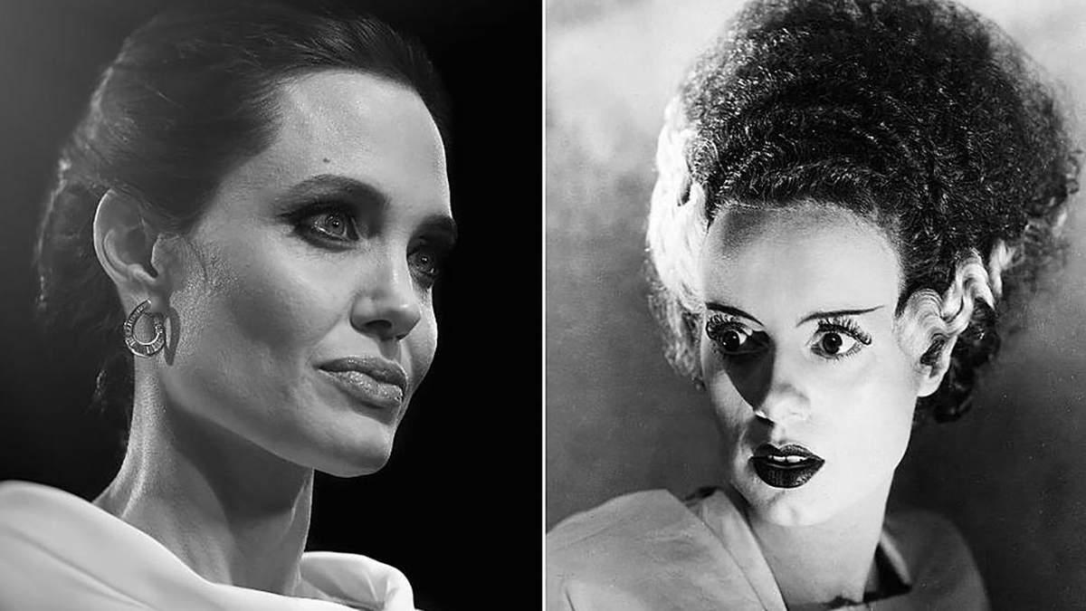 Анджелина Джоли может сыграть Невесту Франкенштейна