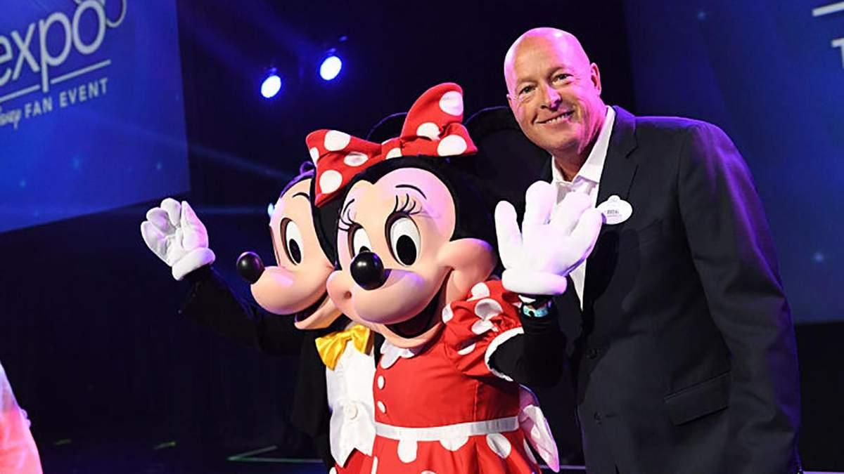 Компанія Walt Disney отримала нового главу: ним став Боб Чапек