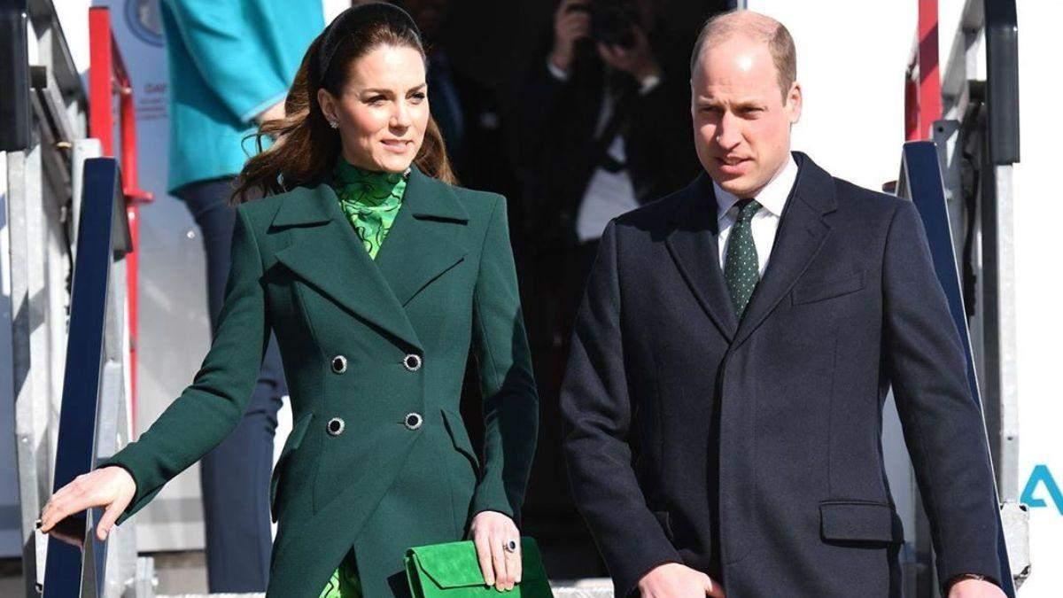 Кейт Міддлтон та принц Вільям в Дубліні