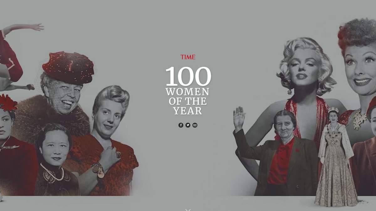 100 найвпливовіших жінок за версією Time