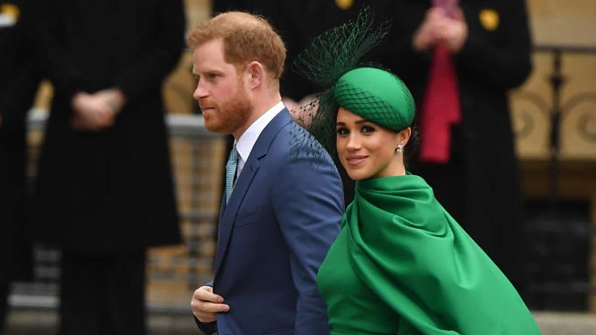 Меган Маркл та принц Гаррі здійснили вихід у складі королівської родини