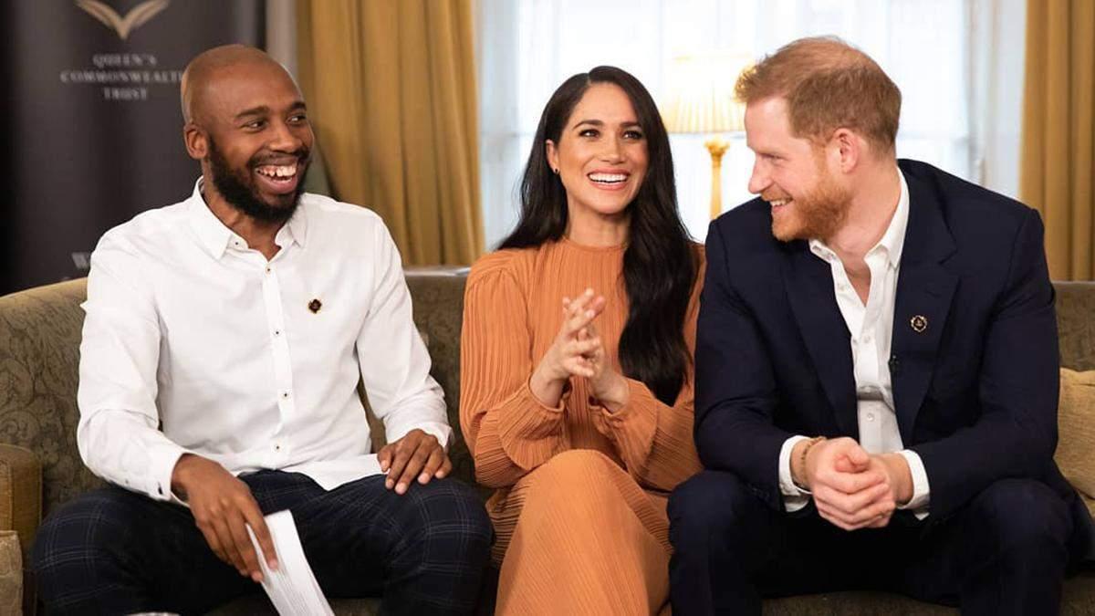 Меган Маркл та принц Гаррі здійснили зустріч з молоддю