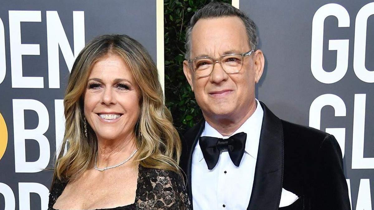 Том Генкс та Рита Вілсон заразилися на коронавірус