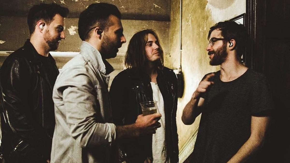 Рок-гурт Nothing But Thieves переносить тур Україною