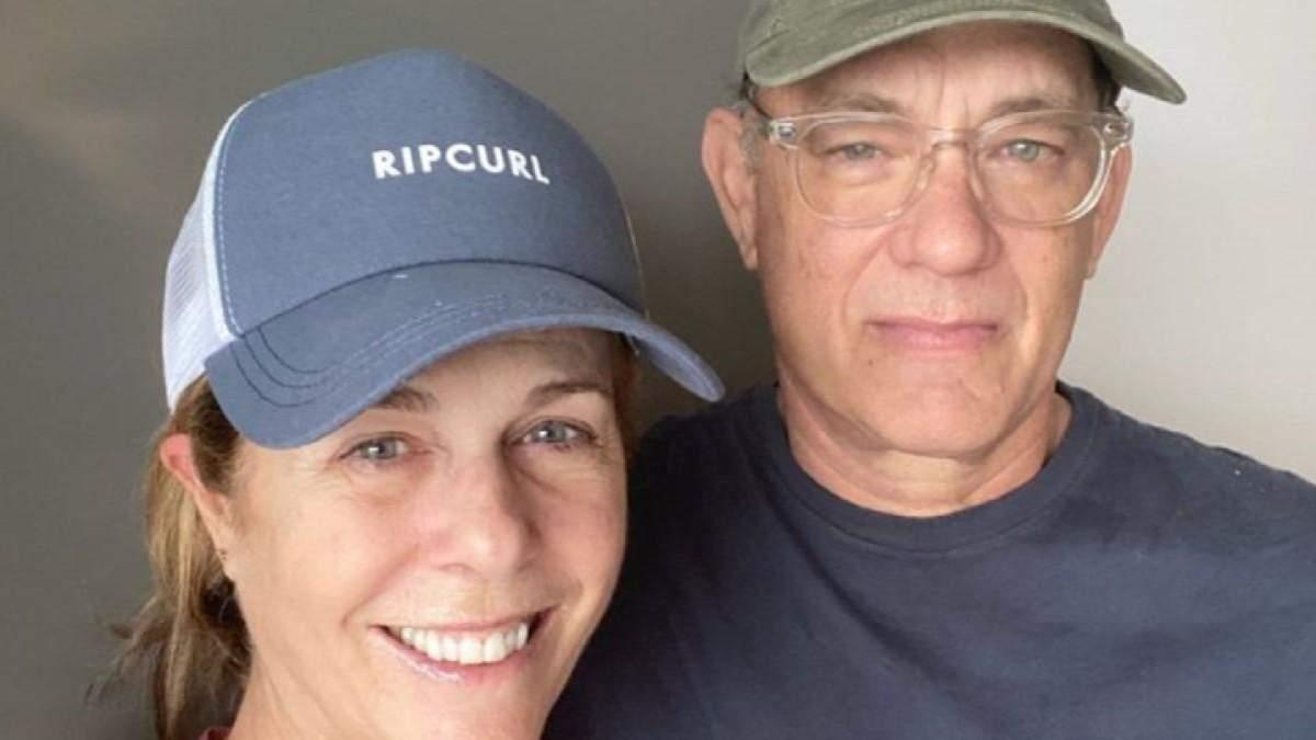 Том Генкс та Рита Вілсон одужали після коронавірусу