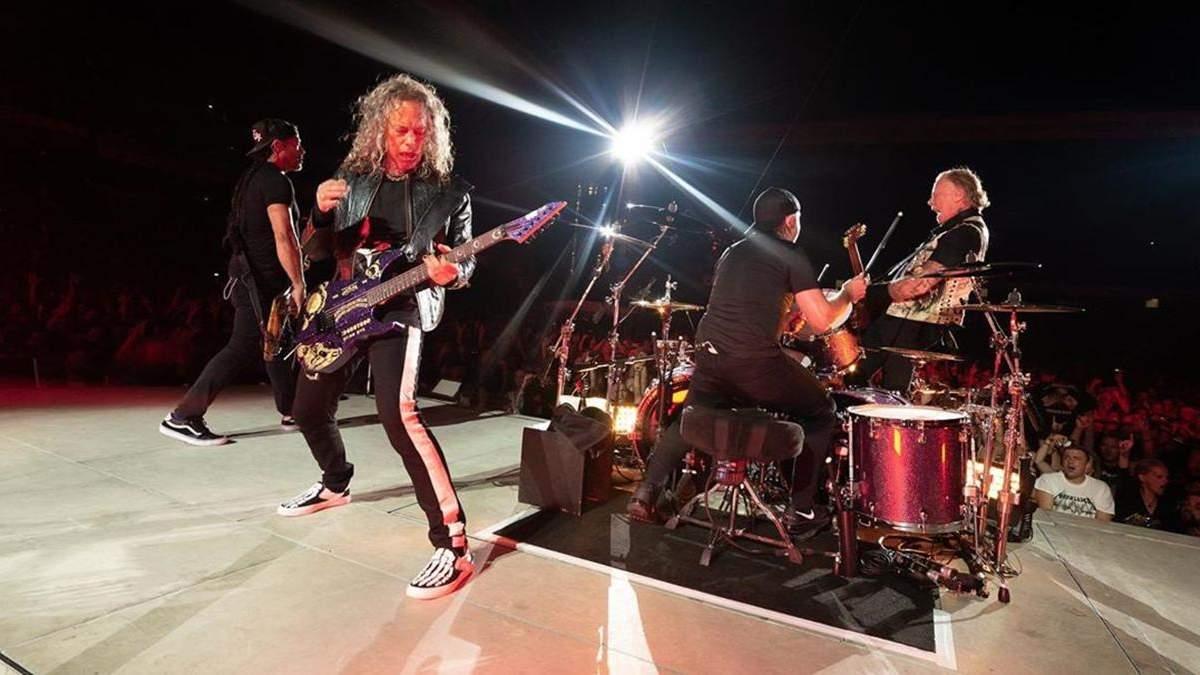 Гурт Metallica презентуватиме нові записи з концертів