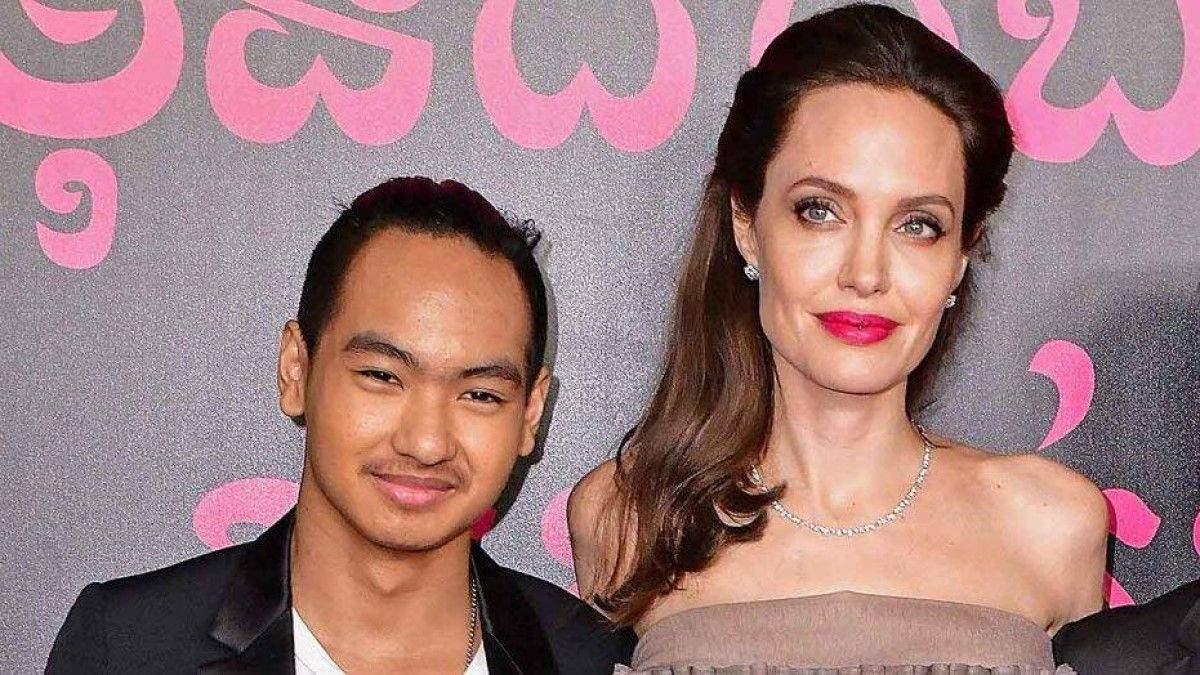 Анджеліна Джолі з сином Меддоксом