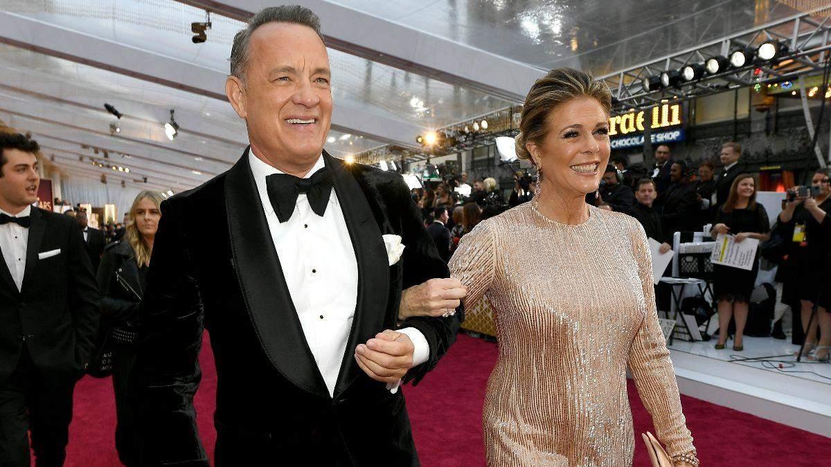 Том Генкс та його дружина