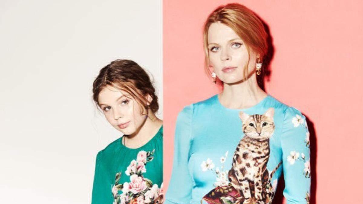 Ольга Фреймут показала фото з дитинства, на якому вражаюче схожа зі своєю донькою