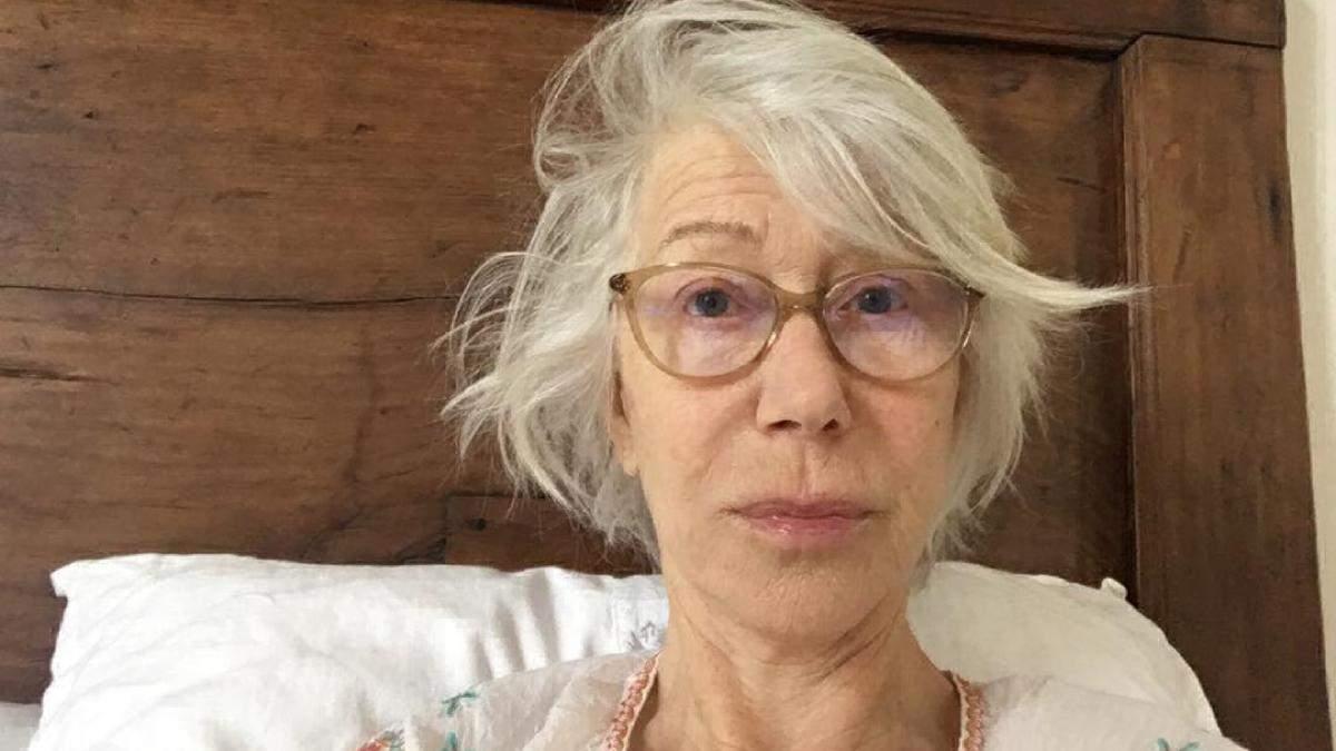 Гелен Міррен без макіяжу