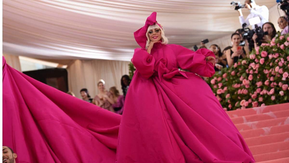 Леді Гага на Met Gala 2020
