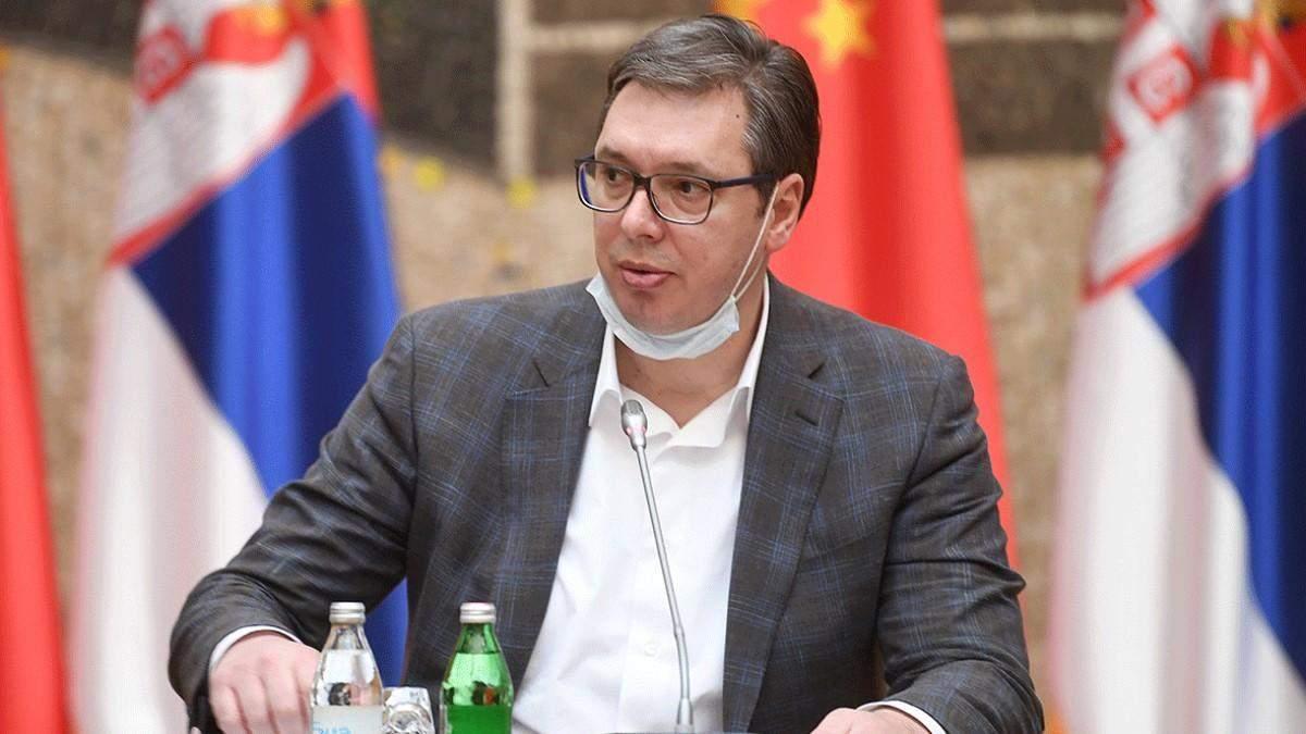 Сын президента Сербии болен коронавирусом