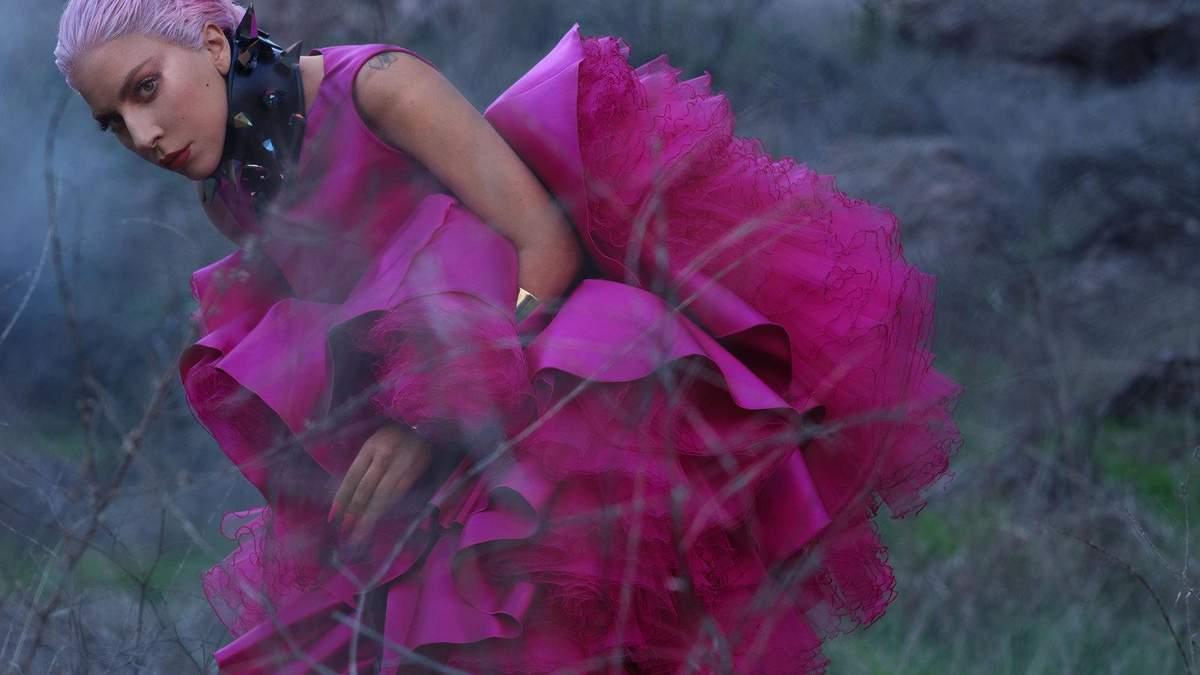Леди Гага в фотосессии для InStyle