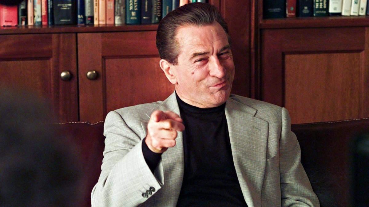 Роберт Де Ніро найчастіше грав лиходія