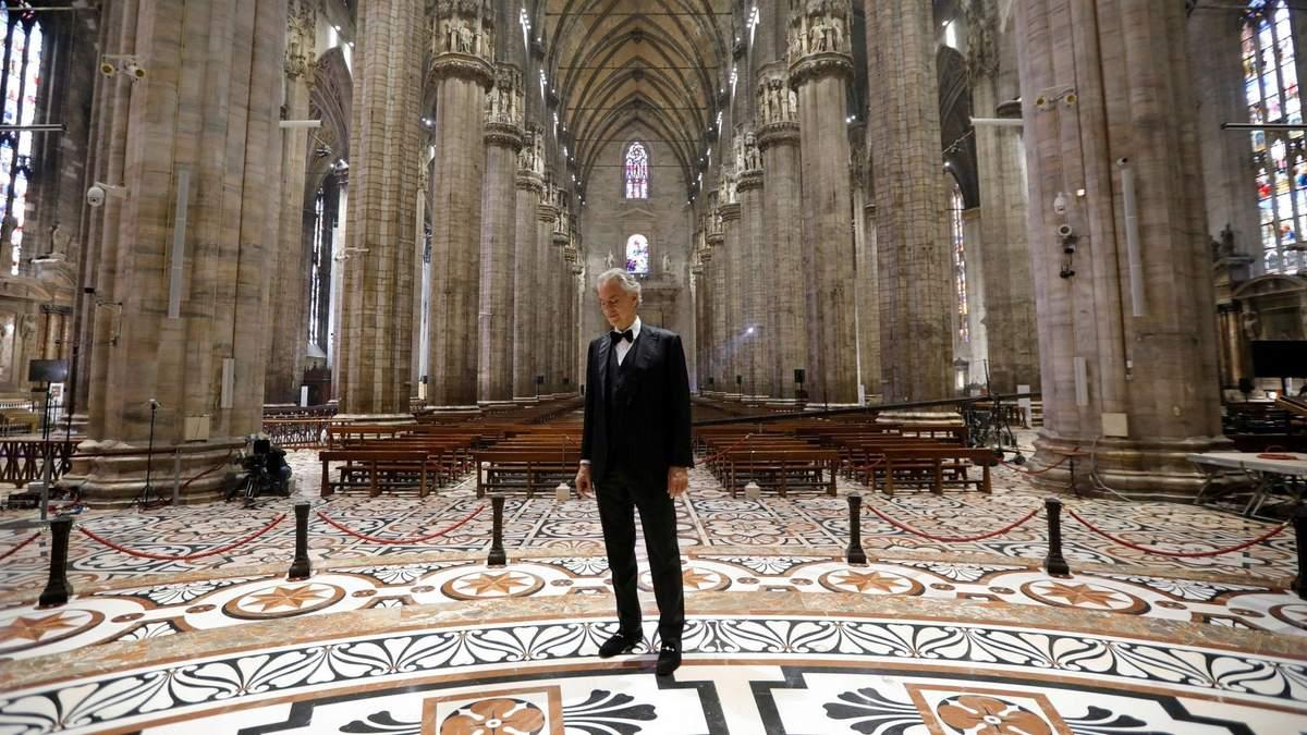 Andrea Bocelli, Duomo di Milano