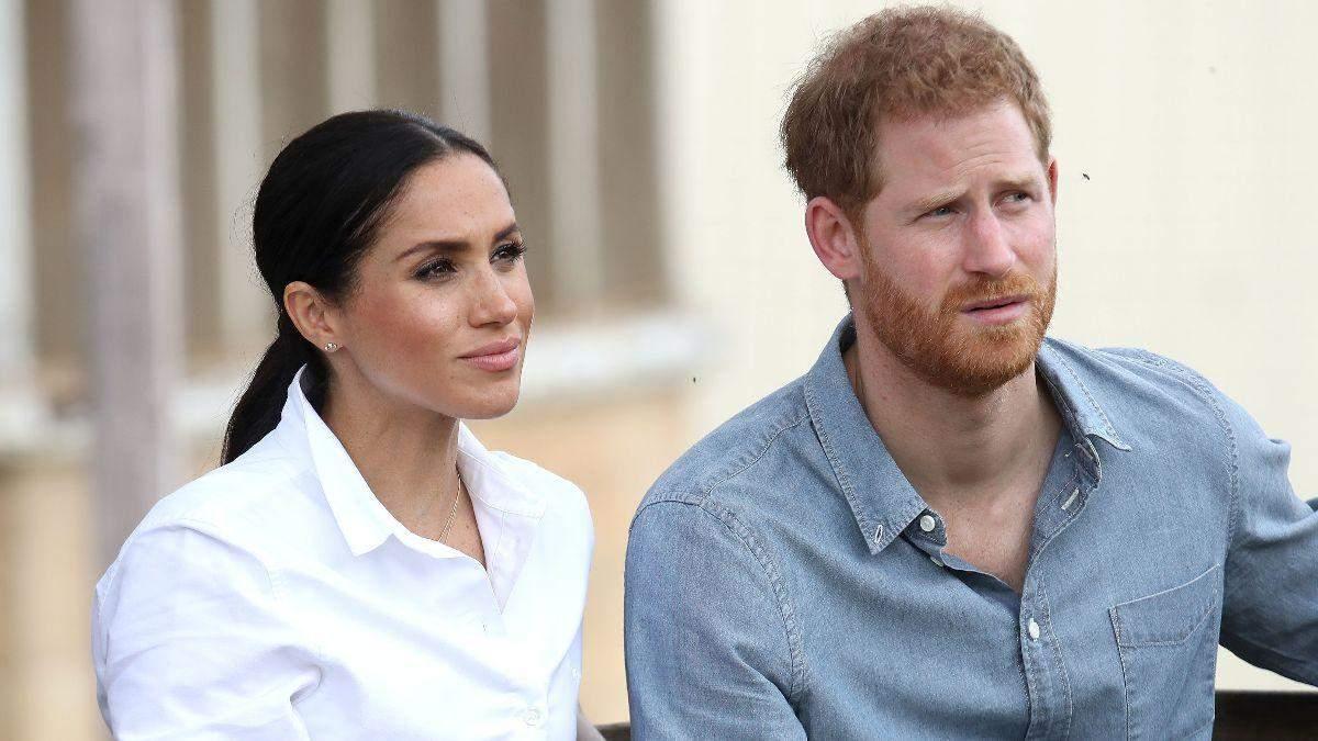 Меган Маркл та принц Гаррі відмовилися від співпраці з чотирма британськими виданнями