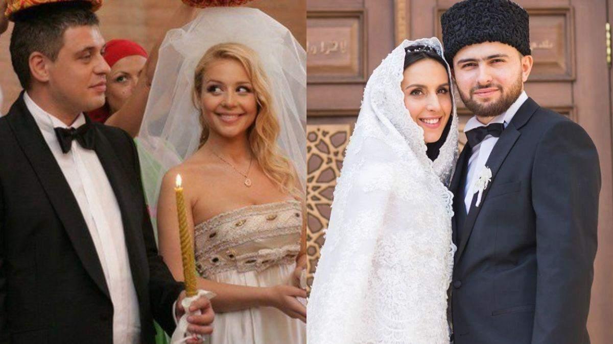 Як виглядали весілля українських зірок: архівні фото