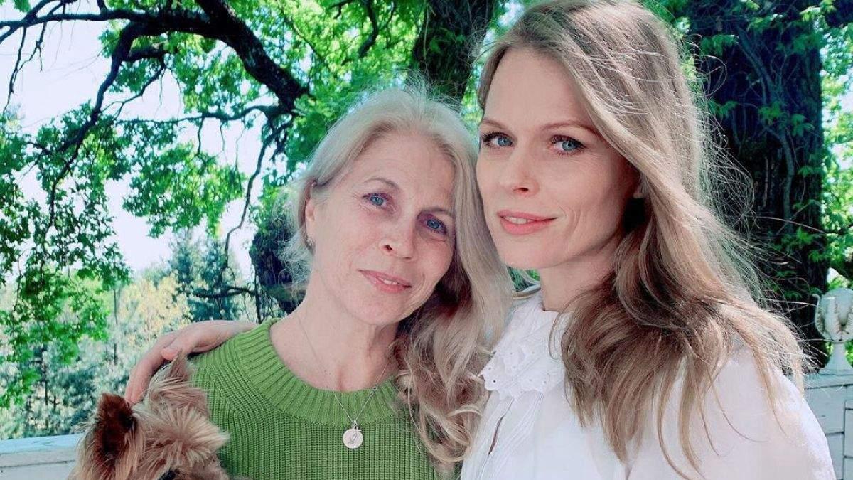 Ольга Фреймут з мамою