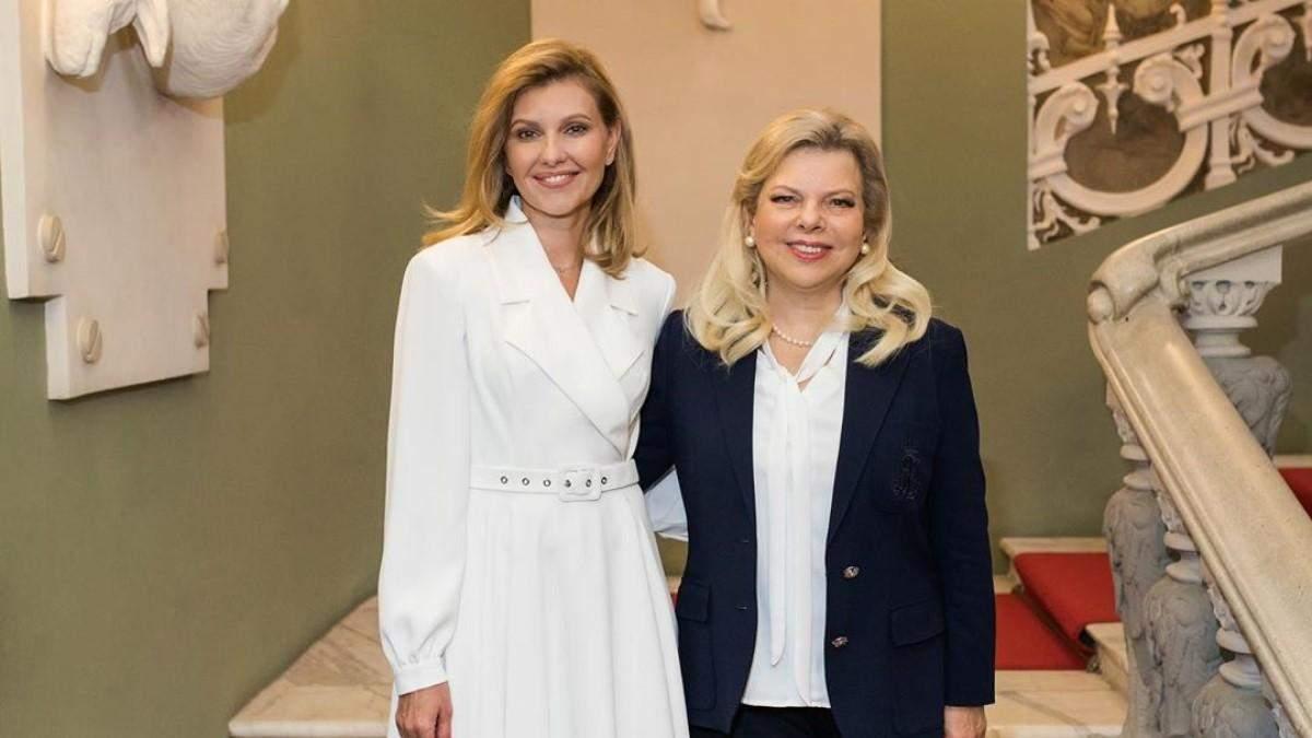 Олена Зеленська віддала на благодійність сукню