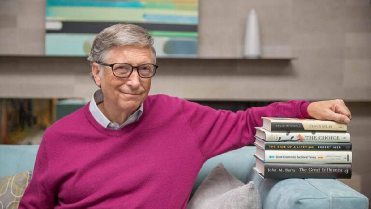 Билл Гейтс посоветовал книги, которые стоит прочитать этим летом