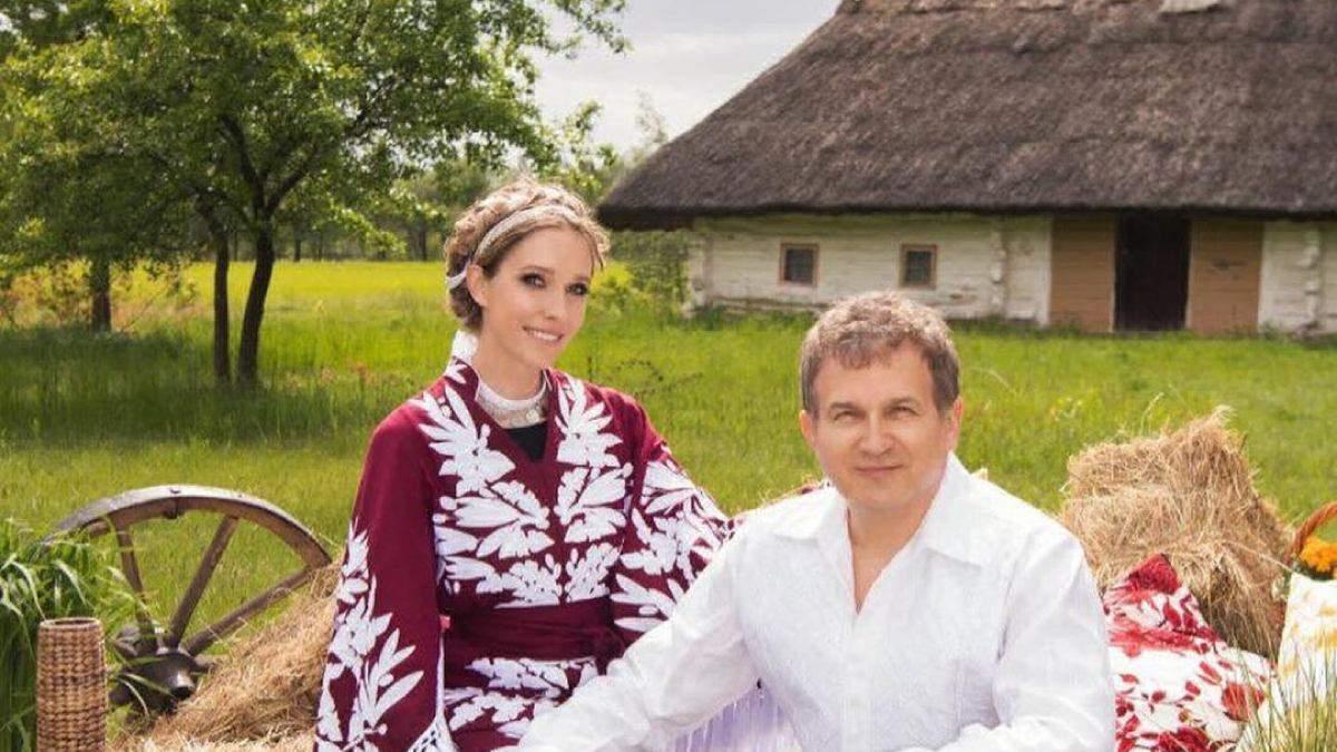 До дня вишиванки: Катерина Осадча знялась у чарівній фотосесії з Юрієм Горбуновим