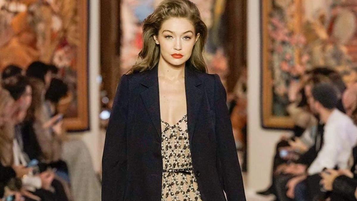 Джіджі Хадід з'являлася вагітною на модних показах