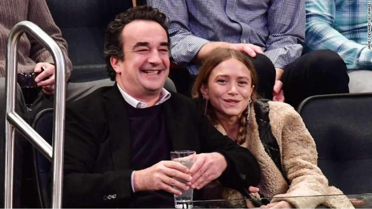 Мері-Кейт Олсен і Олів'є Саркозі