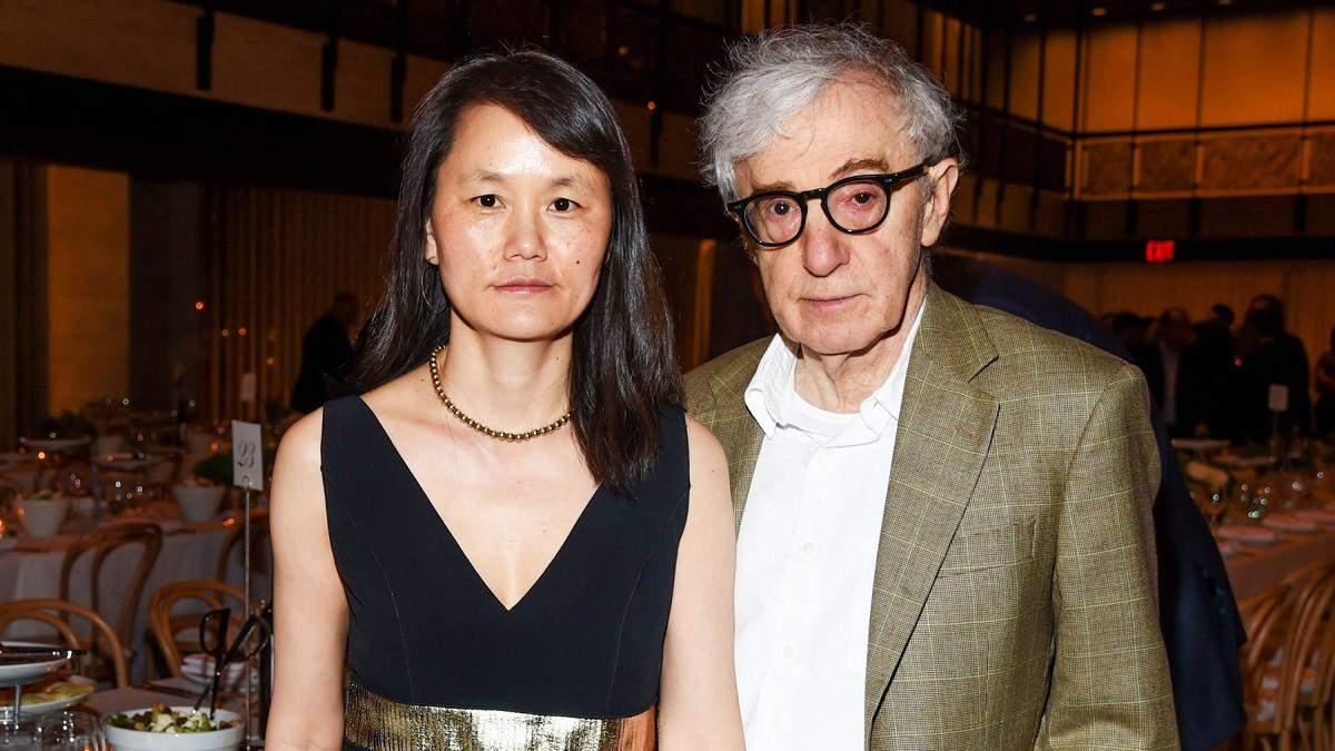 Вуді Аллен з дружиною Сун-І Превін