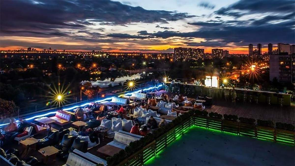 Ресторани Києва 2020 з панорамою на місто: ТОП 5 закладів