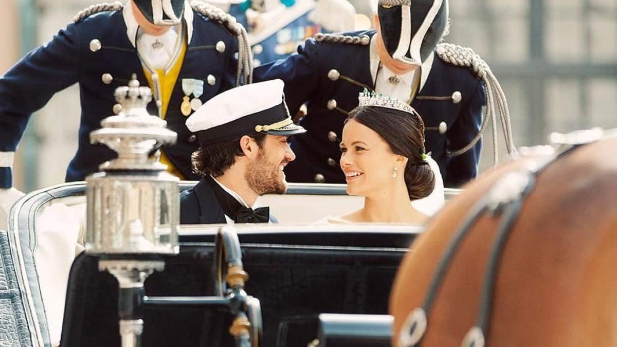 Принц Швеції показав нові фото з весілля