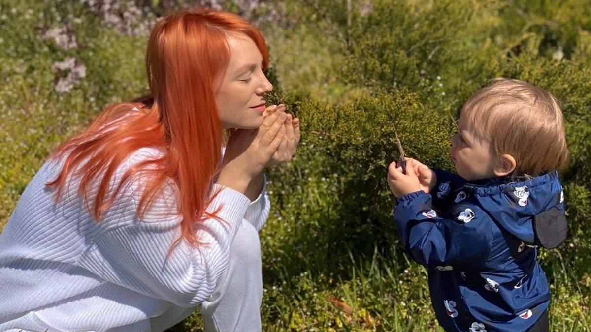 Світлана Тарабарова з сином