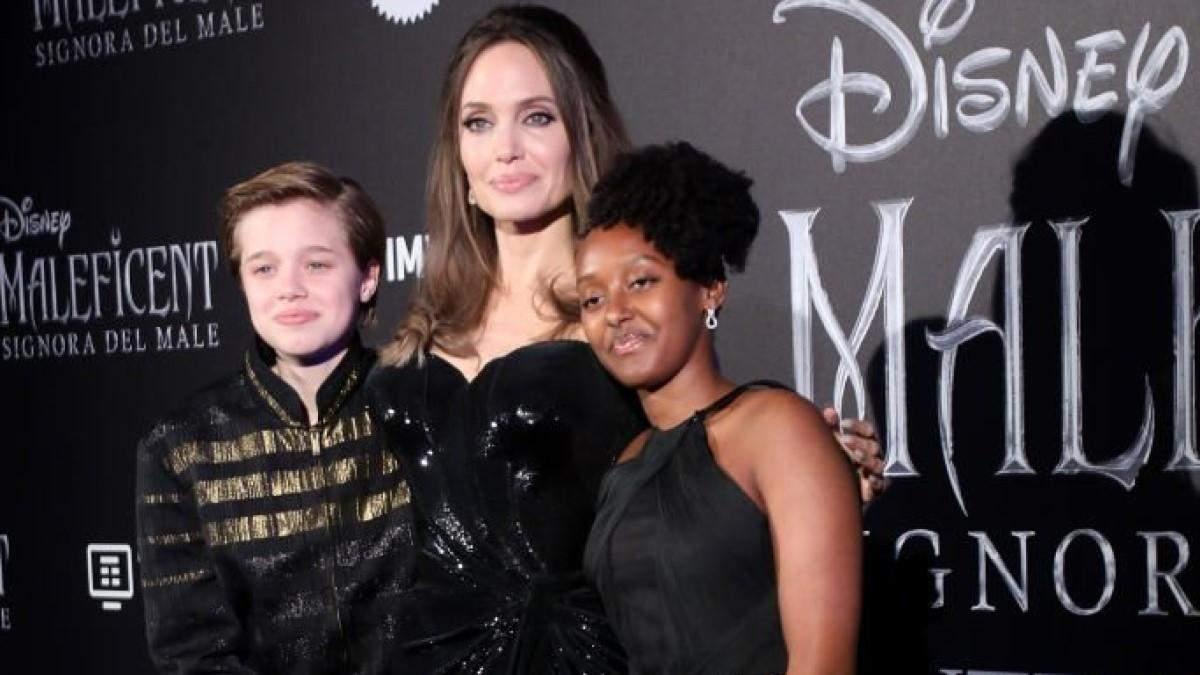 Анджелина Джоли переживает за дочь Захару