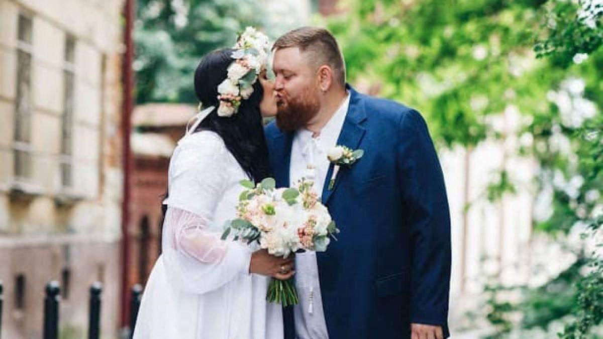 Володимир Жогло одружився: фото з весілля