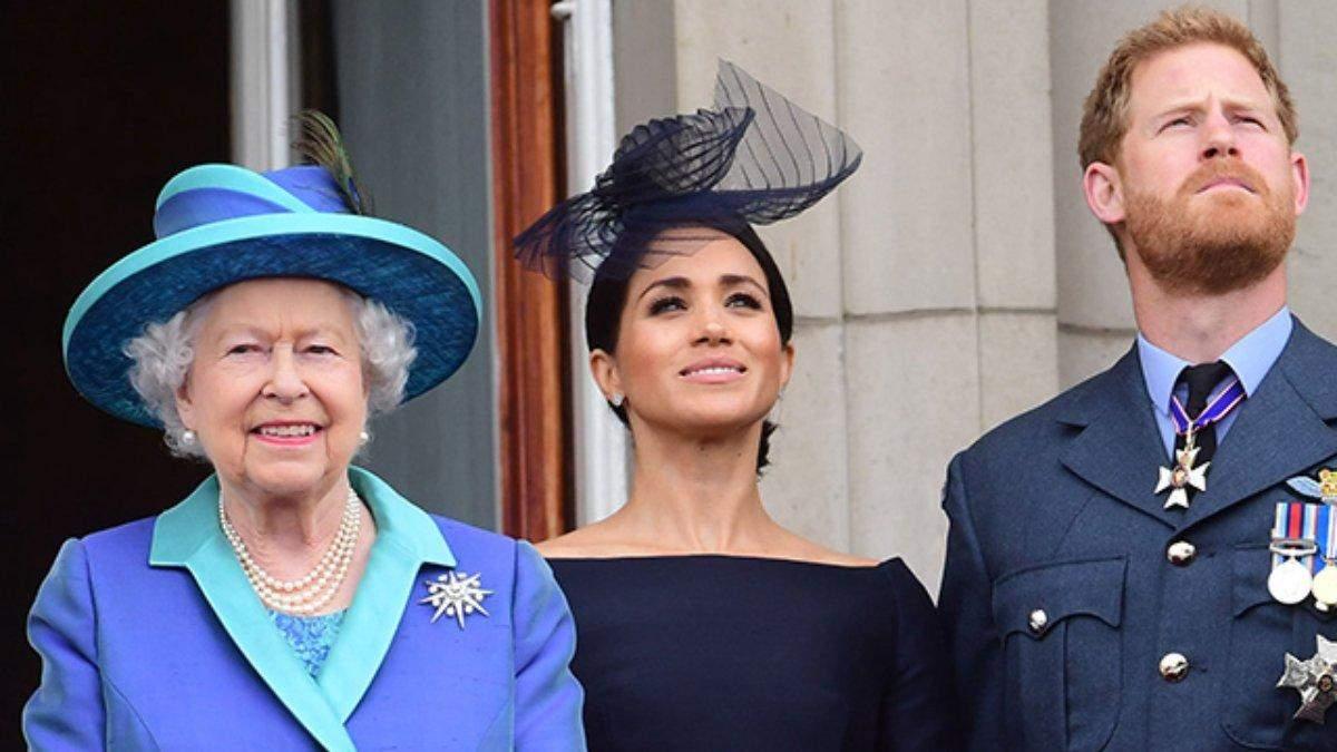 Свадьба Гарри и Меган привело к конфликту с Елизаветой II