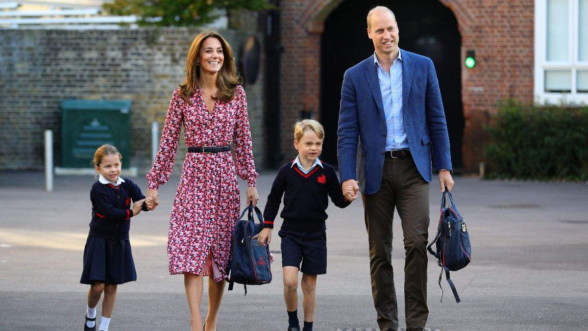 Герцоги Кембриджські з дітьми