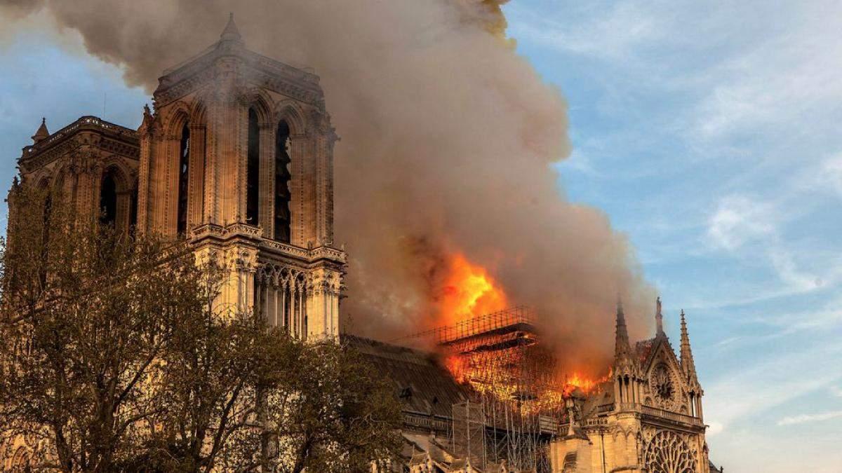 О пожаре в соборе Парижской Богоматери снимут фильм