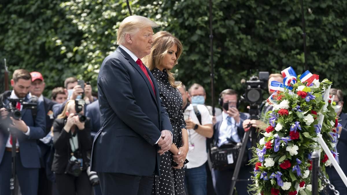 Меланія Трамп і Дональд Трамп